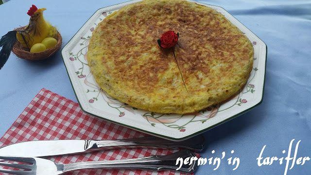 patatesli omlet tarifi | Nermin'in tarifleri