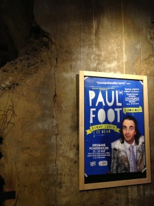Paul Foot – Kenny Larch is Dead   The Punter's Callback  Paul Foot was another great UK comedian on show at the Brisbane Comedy Festival.   Absurdly hilarious!