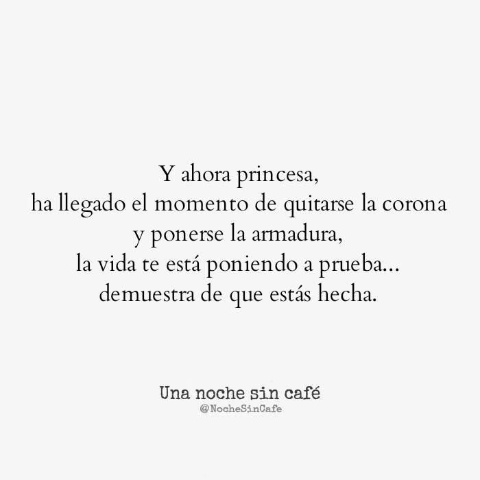 Princesa, una noche sin café