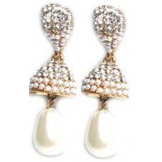 Pearl Ethnic Bollywood Earrings