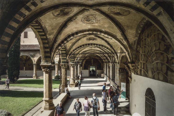 Claustro del Convento de Santa Maria Novella (Florence - Italy)