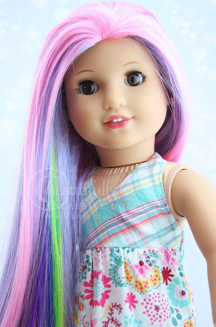 Butterfly Fairy Fairytale Doll Wig Beautifully Custom