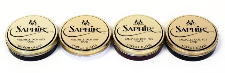 Saphir Medaille d'Or Mirror Gloss Polish - 4 Colors