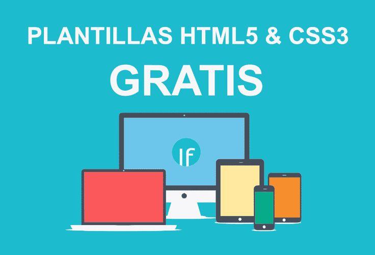 Listado de plantillas gratis HTML5 profesionales y responsive para páginas web, portafolio, o blog personal, visita este enlace para verlas y descargarlas