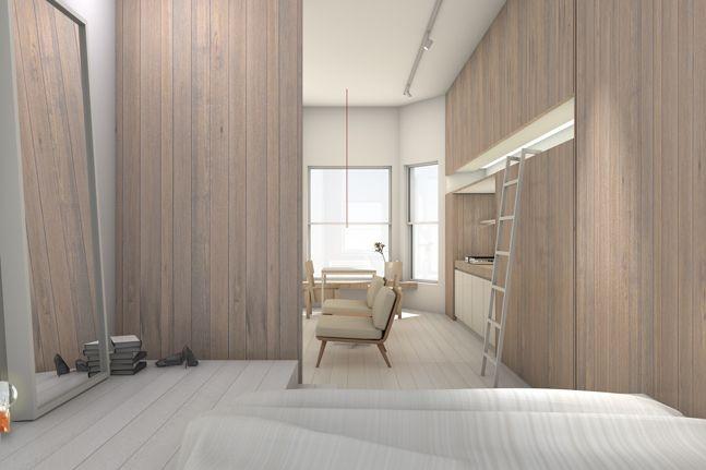 Westbourne Grove Apartment (London)  http://www.archiplanstudio.com