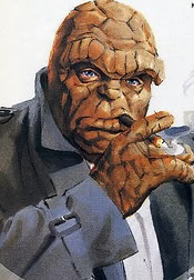 Lazer Gun Diplomacy: Super Heroes with vices Part 1 Cigar Smokers