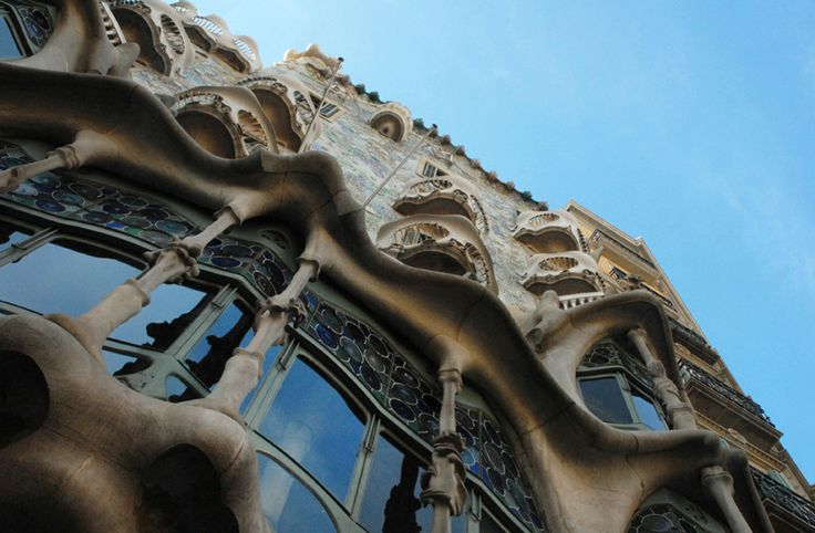 Casa Batlo.Barcelona.Antoni Gaudi