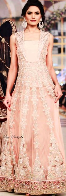 Anarkali at Pantene Bridal Couture Week 2014❋Laya Padigala❋