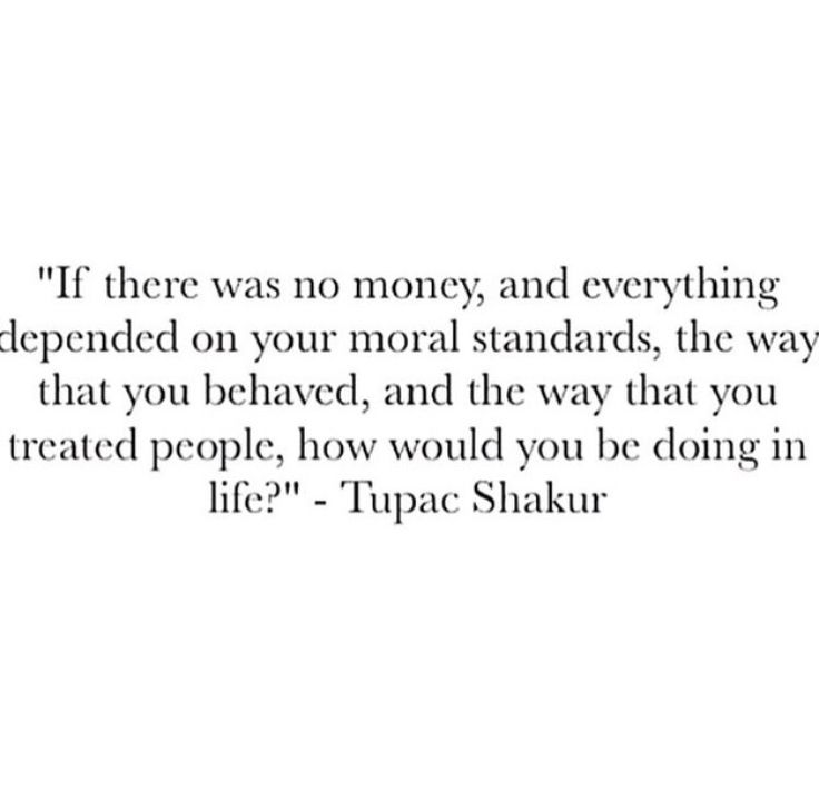 Awesome. I'd be doing awesome Tupac.