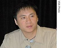 Wang Dan è un attivista cinese, è uno dei maggiori esponenti del Movimento democratico cinese e fu fra i leader studenteschi più in vista durante la Protesta di piazza Tiananmen (1989) quando era ancora una matricola universitaria.