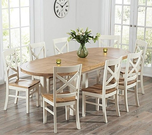 41+ Cream oak dining table and chairs Best