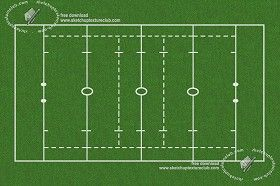 Textures Rugby sports field texture 18719 | Textures - NATURE ELEMENTS - VEGETATION - Green grass | Sketchuptexture