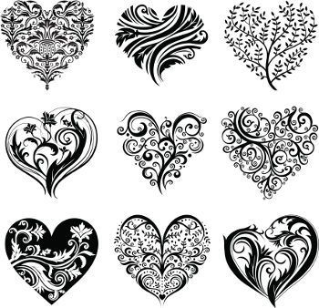 ... Heart Tattoo Designs on Pinterest | Heart tattoos Tattoo designs and