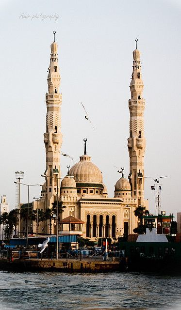 morsy abo abaas mosque in alexandria
