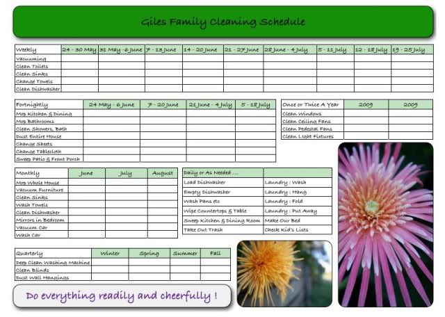 Free Printable Chore Charts for Kids Free printable chore charts