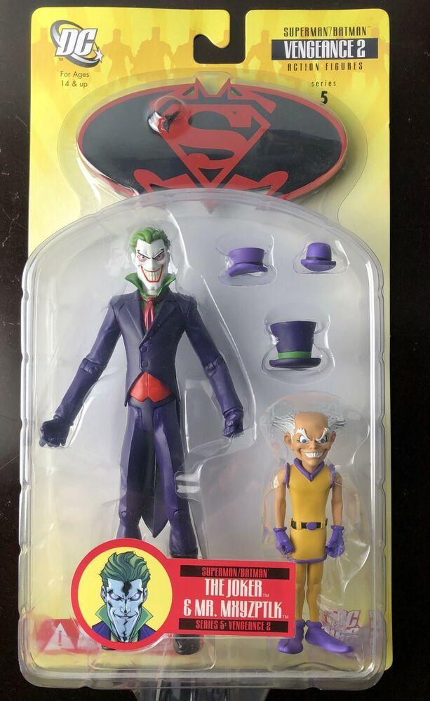 Superman Batman Ser 5 Joker Mr Mxyzpltk 6in Figures Dc Direct Toys 2008 761941266725 Ebay Superhero Toys Action Figures Dc Collectibles