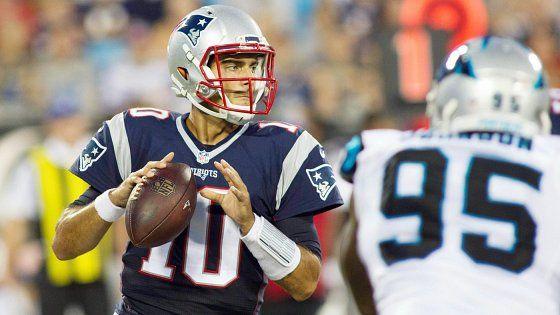 Schefter: Fast 49ers-Patriots Jimmy Garoppolo trade conversations started Monday