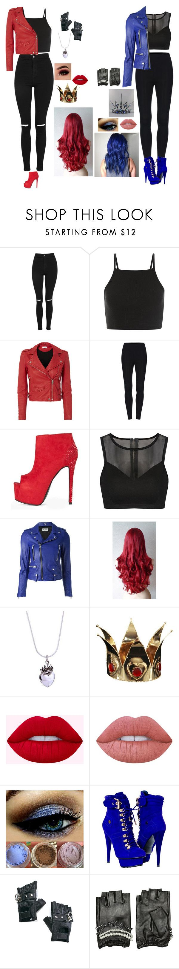 """""""going back to the isle to help ben get mal back //Filming"""" by maddiemoxly ❤ liked on Polyvore featuring Topshop, IRO, Yves Saint Laurent, Ultimate, NOVICA, Lime Crime, Paolo Shoes, Funk Plus and Karl Lagerfeld"""