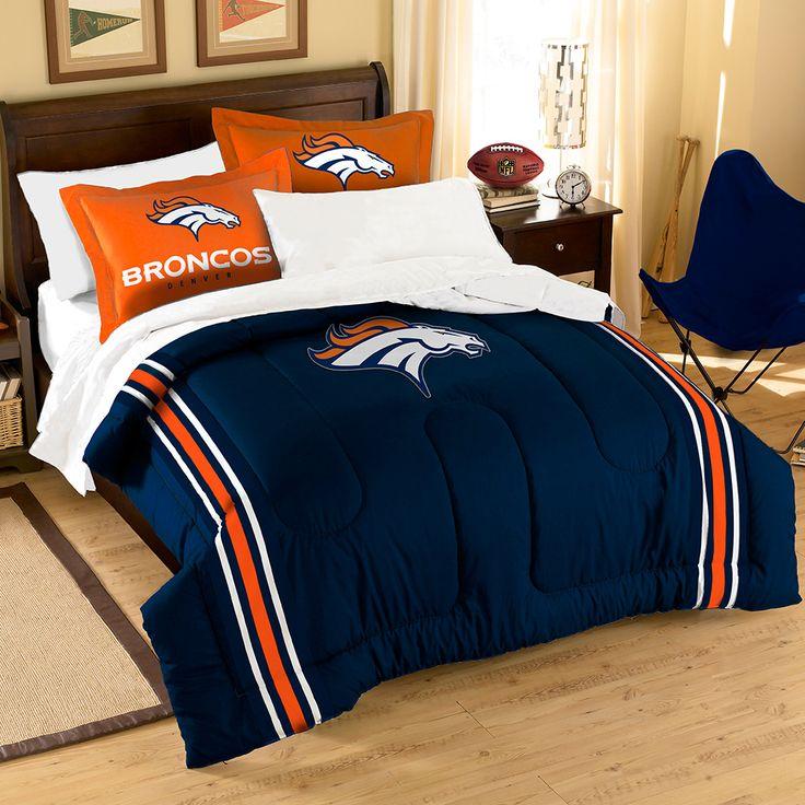 Where to buy denver broncos bedding buy here http www for Denver broncos bedroom ideas
