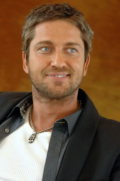 Actor Gerard Butler leading actor in P.S. I Love You. And The Phantom from Phantom of the Opera...