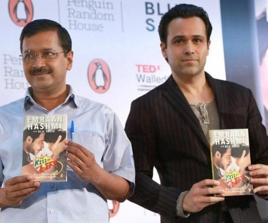 "Emraan Hashmi launches his book ""The Kiss Of Life--How A Superhero & My Son Defeated Cancer"""