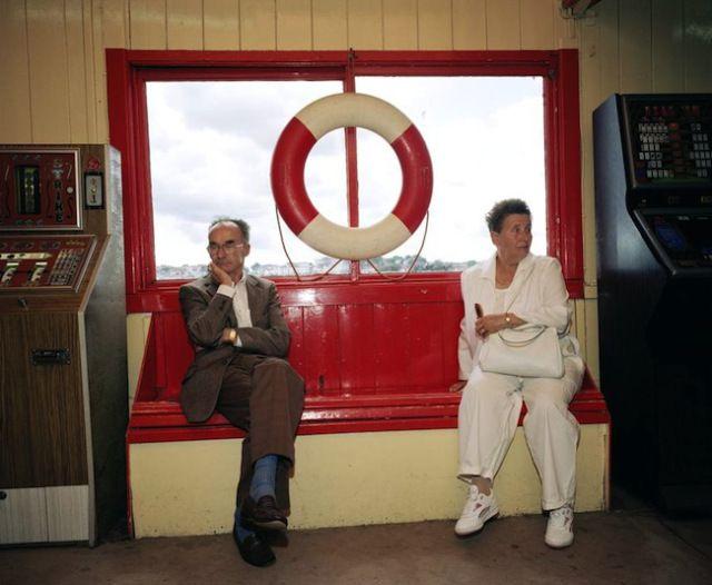 Martin Parr - Bored Couples - 1993