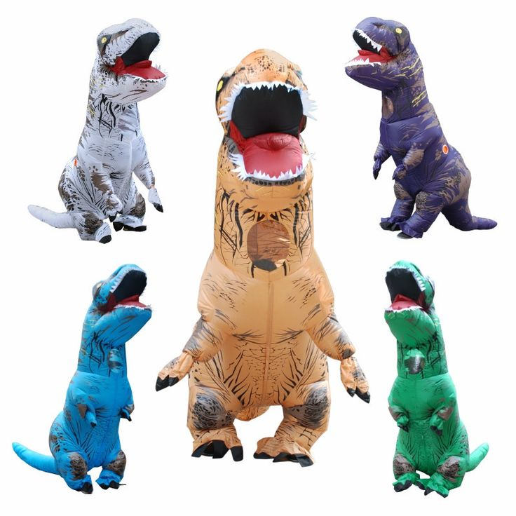 Inflatable T-REX Costume    #costume #cosplay #bodysuit #jumpsuit #fantasy #animal #fullsize #dinosaur #inflatable #halloween    https://goo.gl/Sgt1a1