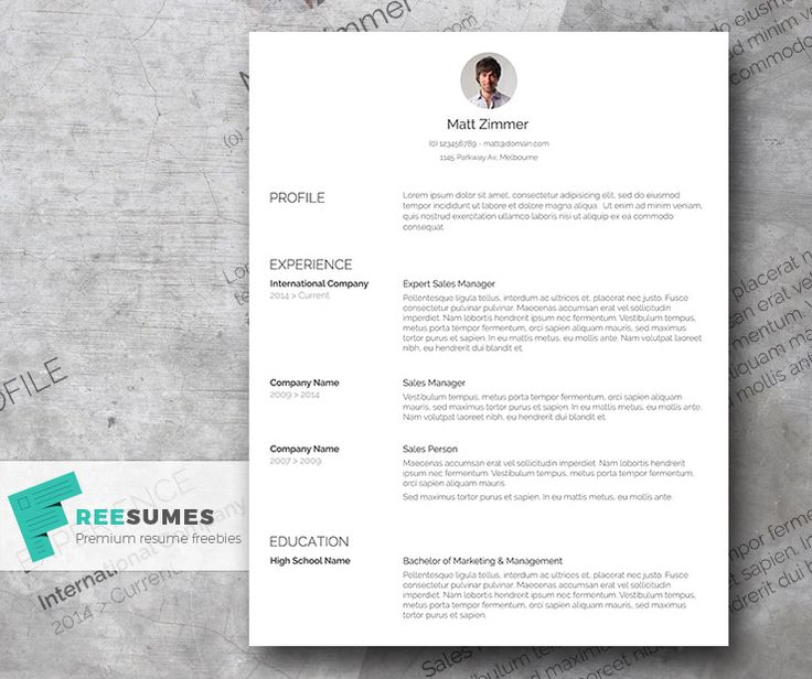 Best Cvs Images On   Curriculum Resume Ideas And Cv