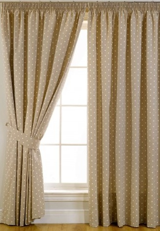 lavenham taupe blackout curtains window