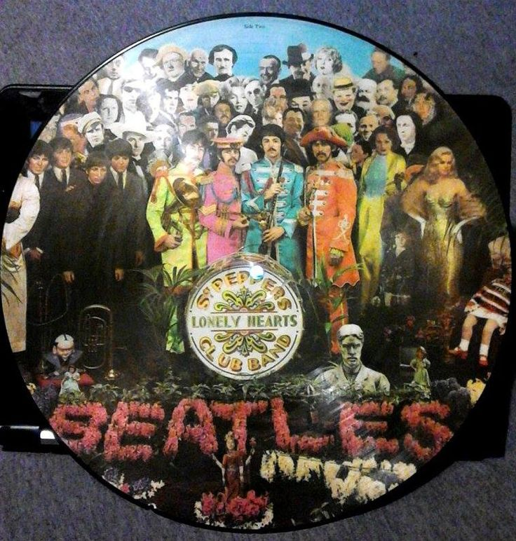 The Beatles  Sgt. Pepper's Lonely Hearts Club Band  On Picture Vinyl
