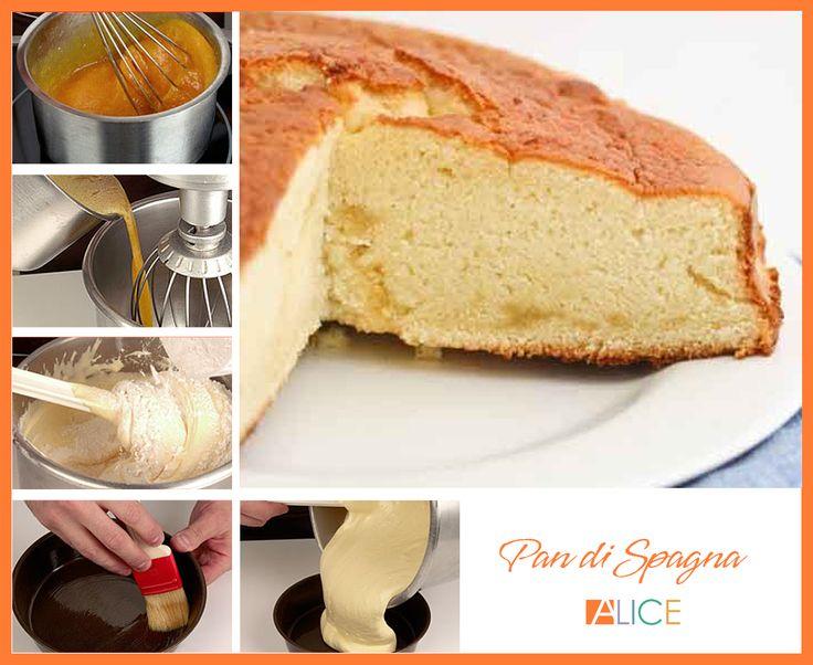 Sapere come fare un Pan di Spagna soffice, spugnoso e delicato è il punto di partenza per preparare dolci sensazionali da farcire con crema pasticcera, cioccolata o le marmellate che preferite.