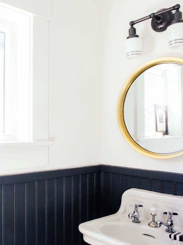 beadboard vs wainscoting do you know the difference bathroom rh pinterest com