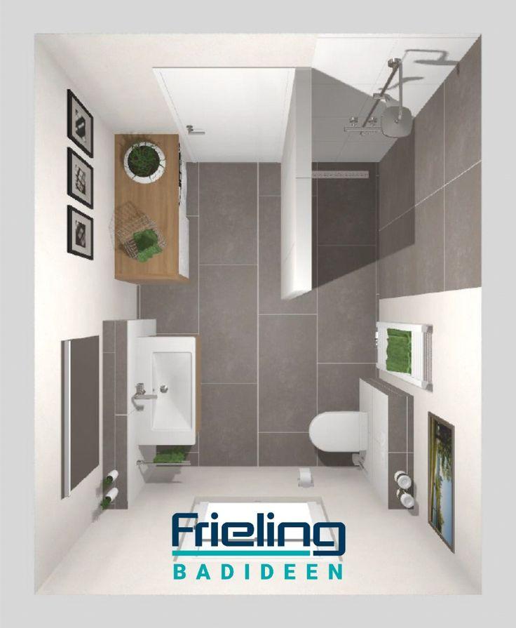 Das Bad Mit Ebenerdiger Dusche Trockner Waschmaschine Im Bad Walkin Dusche Mit Regenbrause In 2020 Ebenerdige Dusche Dusche Bad
