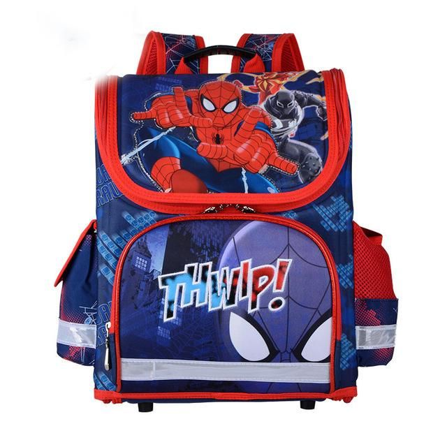 High Quality Orthopedic School Bags For Boys Kids Knapsack Spiderman Children School Bags Backpack Kids Rucksack