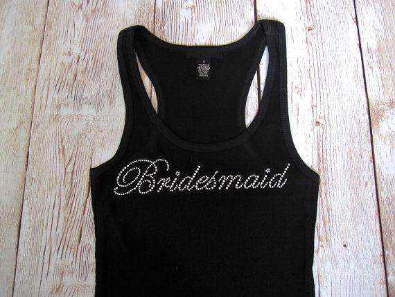SALE XXL and XXXL only. Bridesmaid Tank by TheLittleBridalShop