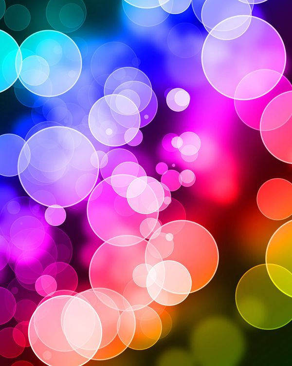 Dotted / bokeh background - 50 Examples of Cool Backgrounds  <3 <3