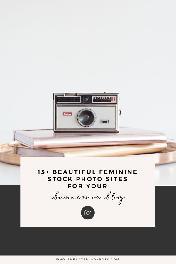 15+ Beautiful Feminine Stock Photo Sites for your Business or Blog