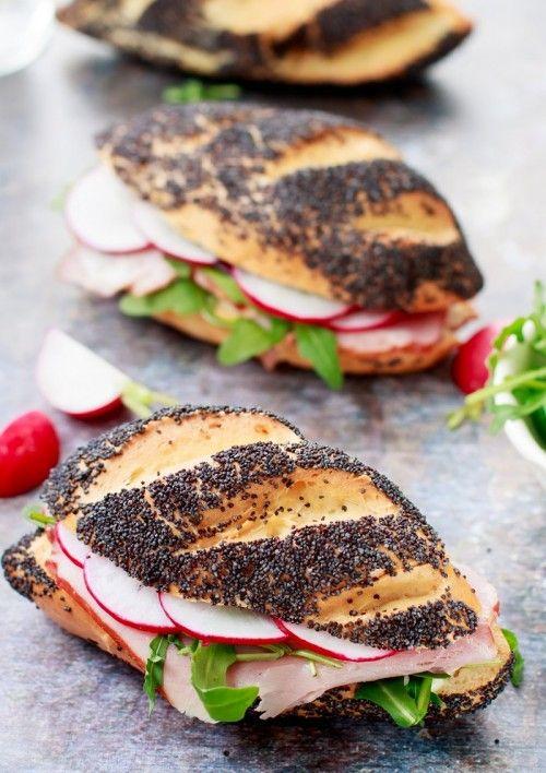 Mákos szendvicskalács recept