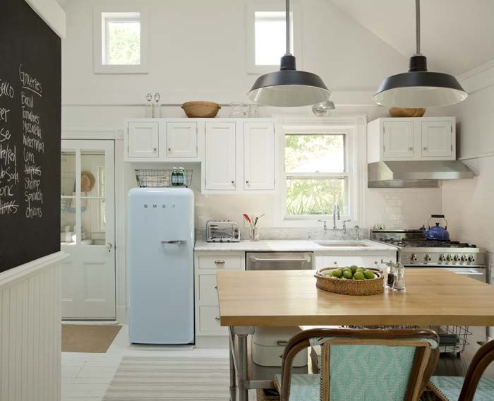 Fabulous pastel blue FAB28 fridge! #smeg50style  Favoloso frigorifero azzurro pastello FAB28 #smeg50style