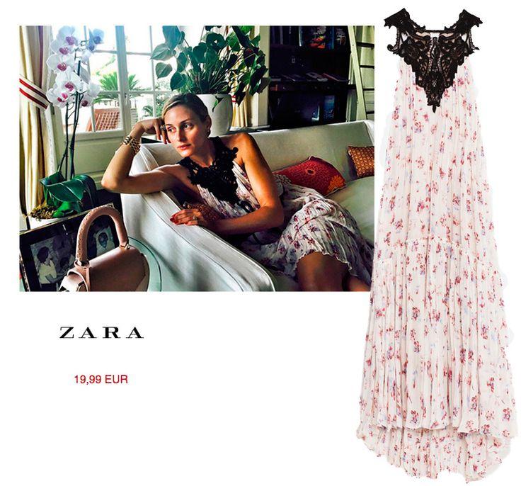 Olivia Palermo vuelve a vestir de Zara http://stylelovely.com/entutiendamecole/2016/07/olivia-palermo-vestido-zara