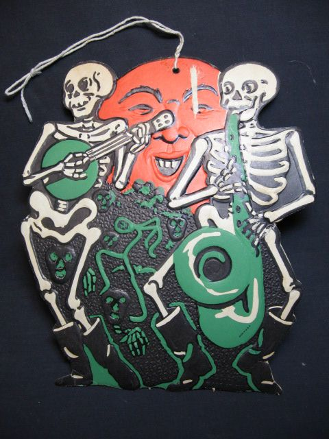 vintage halloween decorations and collectibles