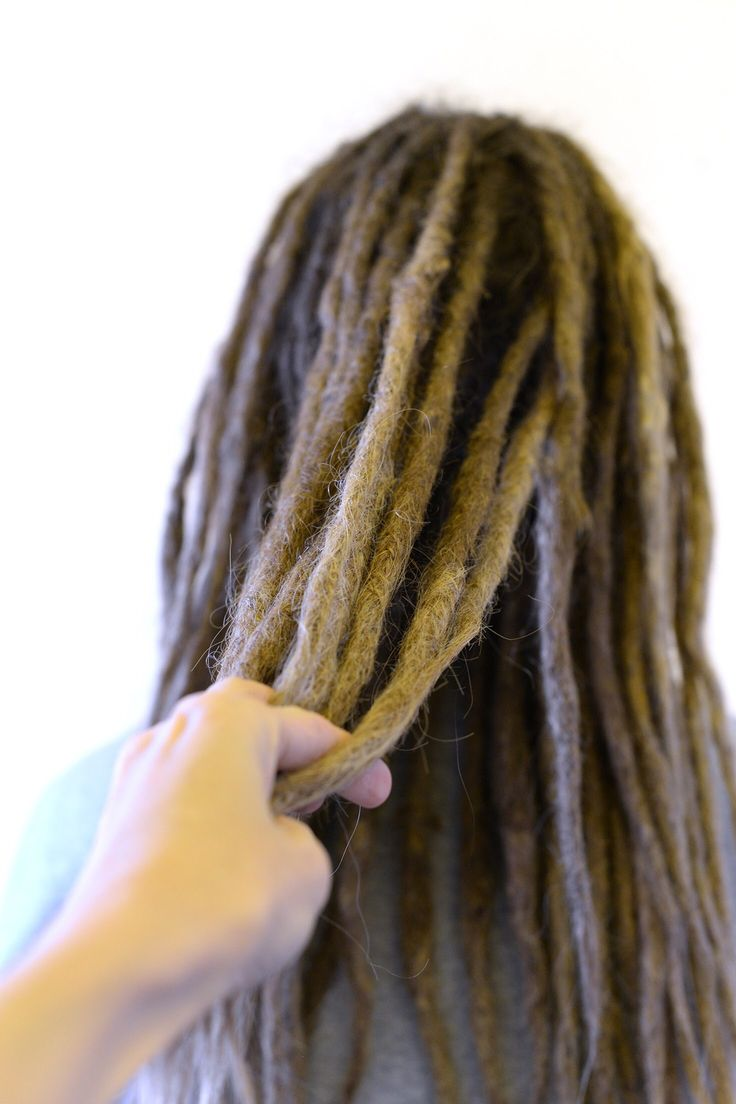 Do you have dreadlocks and want them to be longer? You can extend dreads so that you will get the length that you want no problem. This is the work of my students that made these dreadlock extenders 5 months ago, they are forming together with the hair and looks great!