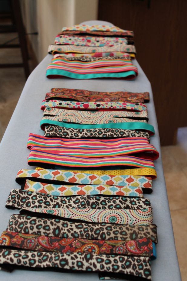 DIY sweaty bands....this is my weekend project. I will probably make a bunch and put them in my Etsy shop.