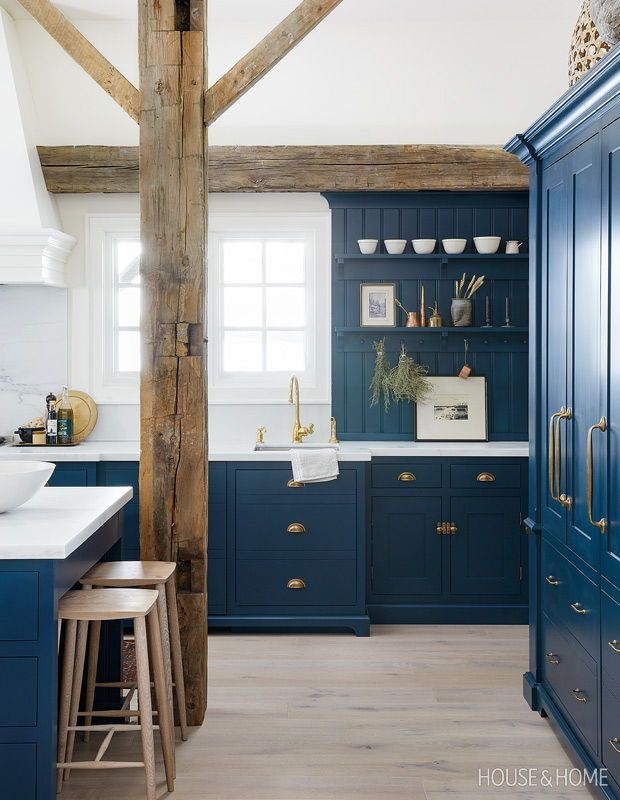 55 Beautiful Kitchens That Make A Case For Color English Country Kitchens Interior Design Kitchen Beautiful Kitchens