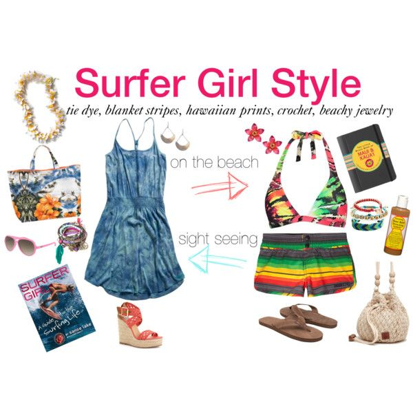 Surfer Girl Style, created by lapetitefashionistablog