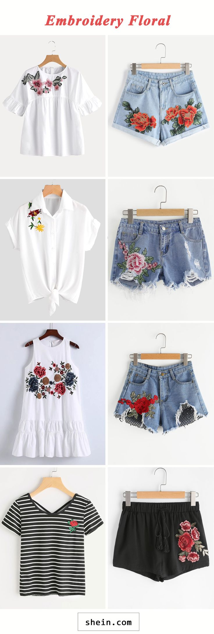Embroidery Floral