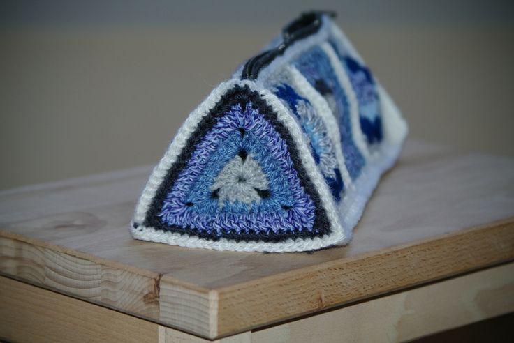 crocheter un granny triangle