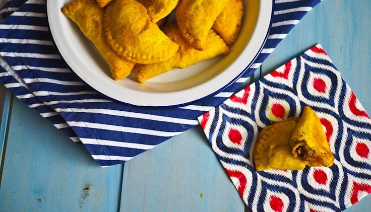 Smalltings! Beef Filled Buttery Jamaican Patties