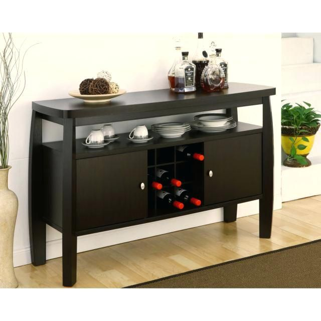 Buffet Sofa Table Sideboard Buffet Modern Console Table Wine Rack Storage Cabinet Dining Bar Wood S Dining Room Sideboard Dining Room Buffet Modern Dining Room