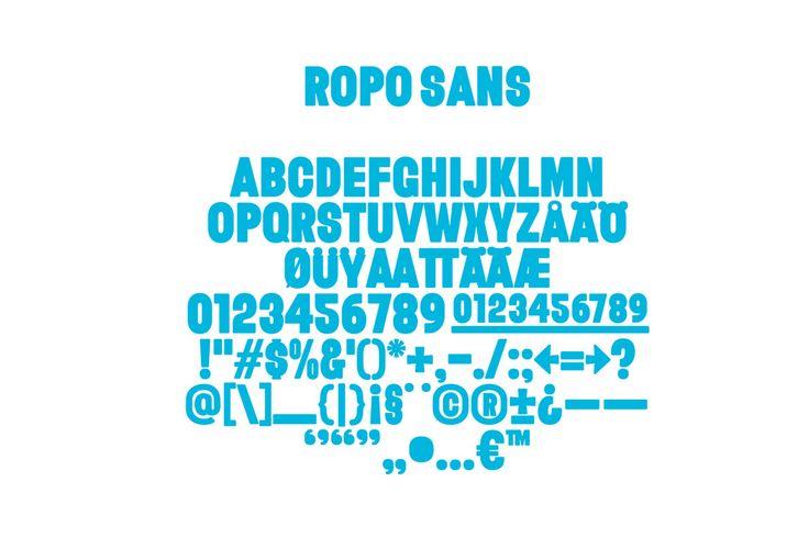 Ropo Sans— Werklig / Helsinki Type Studio